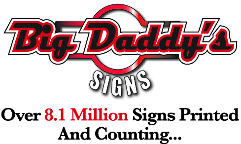 Custom Printed Advertising Yard Signs, Real Estate Signs, Car Magnets, Vinyl Banners and Political Signs